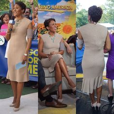 Robin Roberts wearing PICC Cover Fashions TM arm band sleeve in 'TaupeLine' by Cast Cover Fashions. June 22, 2012, NYC.     diandre_tristan's photo instagr.am/p/MLq-2Zv9h6/ via @instagram exciting!