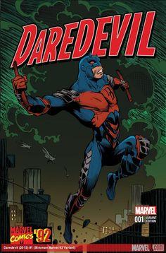 Daredevil #1 - Larry Stroman Marvel '92 Variant