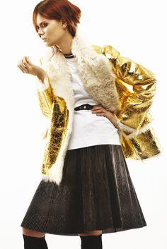 Marni Pre-Fall 2013 Fashion Show - Irina Kravchenko (Women)