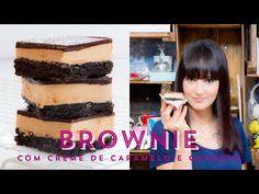 Quadradinhos de BROWNIE com CREME DE CARAMELO e CHOCOLATE | I Could Kill For Dessert 60 #ICKFD - YouTube