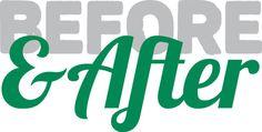 Before & After Custom Logo Design - eGraphics