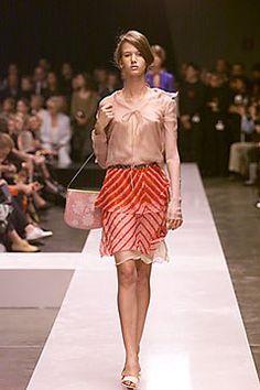 Fendi Spring 2000 Ready-to-Wear Fashion Show - Karolina Malinowska, Karl Lagerfeld