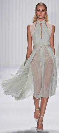 J Mendell New York Fashion week http://beautyisdiverse.com/2012/09/j-mendel-spring-2013/