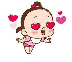 ★카카오톡 '쥐방울 이쁨주의!'이모티콘★ : 네이버 블로그 Cute Love Pictures, Cute Cartoon Pictures, Cute Love Gif, Gif Pictures, Animiertes Gif, Hug Gif, Animated Gif, Cartoon Gifs, Cute Cartoon Wallpapers