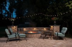 """J.T. Hale of Atlantis Patios was recently name a """"Hardscape Hero"""" by Eagle Bay Hardscape Products. This is a picture from his recent project that won.  www.atlantispatios.com"""