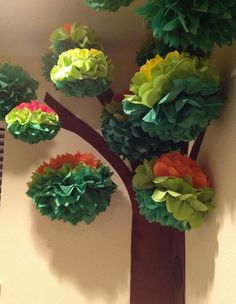 turn them into a pom-pom tree for a woodland-themed reading area. Or turn them into a pom-pom tree for a woodland-themed reading area. Classroom Setting, Classroom Design, Classroom Displays, New Classroom, Reading Garden Classroom, Classroom Organization, Infant Classroom Ideas, Paper Tree Classroom, Classroom Management