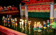 Water puppetry – unique art form of Vietnam http://www.vietnammuslimtours.net/hanoi-muslim-tour/water-puppetry-unique-art-form-vietnam/