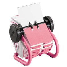 Rolodex Pink Metal R