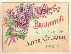 Vintage French Labels | vintage french label | Wonderful French Labels