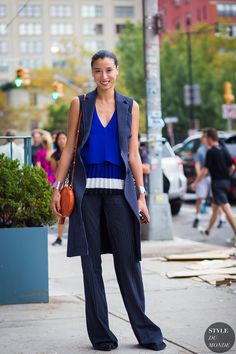 New York Fashion Week SS 2016 Street Style: Lily Kwong