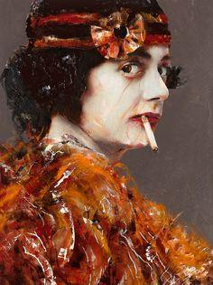 LITA CABELLUT http://www.widewalls.ch/artist/lita-cabellut/ #painting