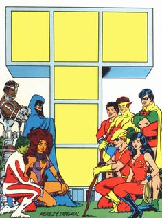 Perez/Tanghal  Nice to see Aqualad and Speedy but where's Tula?