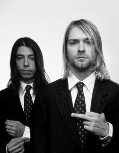 Dave Grohl and Kurt Cobain / Nirvana