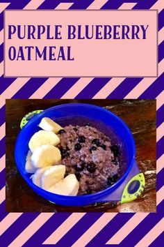 My Recipes, Gluten Free Recipes, Blueberry Oatmeal, Best Breakfast Recipes, Food Words, Recipe Ratings, Recipe Please, Frozen Blueberries, Coconut Sugar