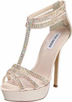 Steve Madden Women's Showstop T-Strap Sandal