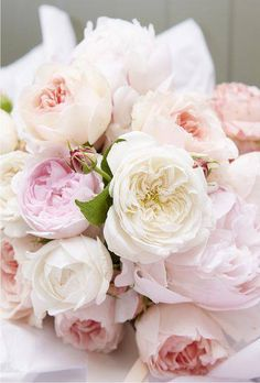 Soft, dreamy pastels | roses and peonies