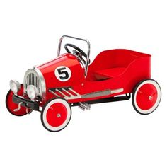 Morgan Cycle Vintage Retro Pedal Car Riding Toy Red