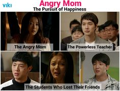 Will the 5 main characters from Angry Mom find happiness? Find out in the dramatic finale!