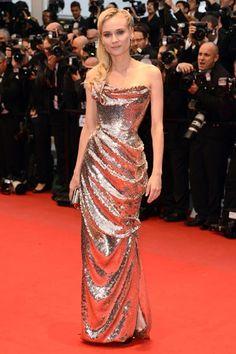 Diane Kruger in Vivienne Westwood at Cannes Festival