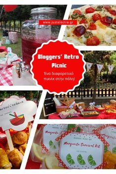Bloggers' Retro Picnic – Ένα διαφορετικό πικνίκ στην πόλη! | just electra Margarita, Picnic, Retro, Day, Food, Margaritas, Picnics, Rustic, Meals