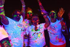 Color and Glow 5k is 3.1 miles of GLOW-tastic fun! As you make your way through the course you will be doused with glow paint at our glow zones. When you hit the finish line that is where the party begins! At our after party the DJ spins and the paint flies! Runners of all ages can come and party the night away! Get ready for the most GLOW-tastic night of your life! #colorandglow