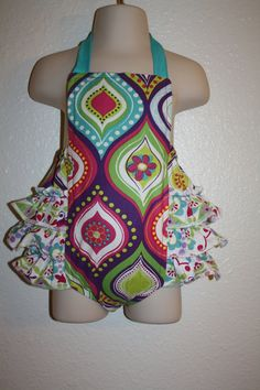 This is Precious!  Baby Ruffled Bubble Romper by BBFC on Etsy, $35.00