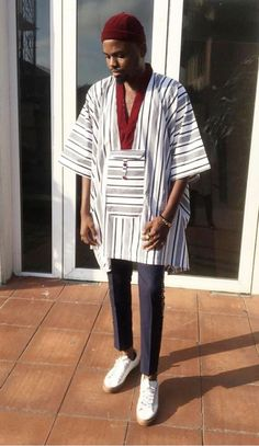 Patrickslim African Shirts For Men, African Dresses Men, African Attire For Men, African Outfits, Nigerian Men Fashion, African Men Fashion, Best Q, Men's Polo, Polo Shirts