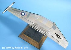 Northrop Nuclear-Powered Flying Wing - 2