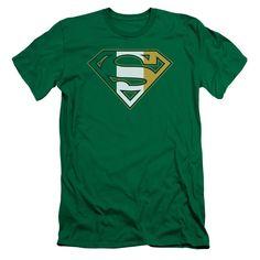 Superman - Irish Shield Premuim Canvas Adult Slim Fit 30/1