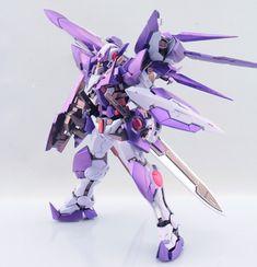 Custom Build: MG 1/100 Gundam Exia Dark Matter - Gundam Kits Collection News and Reviews