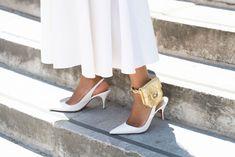 The Best Designer Shoes You Won't Regret Investing In- ellemag Gucci Loafers, Fresh Shoes, Slingback Pump, Designer Heels, Black Mesh, Manolo Blahnik, Balenciaga, Stiletto Heels, What To Wear