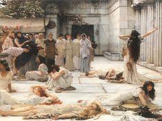 Women of Amfiss By Lawrence Alma Tadema