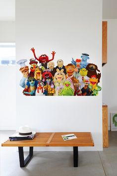 muppet crew wall decal