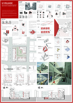 이미지를 클릭하면 창이 닫힙니다. Architecture Program, Architecture Concept Drawings, Architecture Presentation Board, Architecture Panel, Architecture Details, Organic Architecture, Project Presentation, Presentation Layout, Layout Design