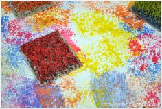 Carpet Sample Painting by Crayon Box Chronicles
