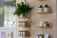 love the humble peg board being elevated by new designers! this version by yvonne mouser