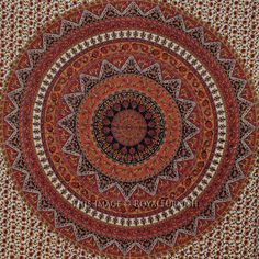 Buy bedroom dorm college bohemian mandala tapestry wall hanging bed cover at Royal Furnish at best price. Indian Tapestries are available into different designs, colors & styles. Indian Tapestry, Bohemian Tapestry, Mandala Tapestry, Hippie Bohemian, Bohemian Room Decor, Dorm Room Walls, Indian Star, Tapestry Wall Hanging, Bed Covers