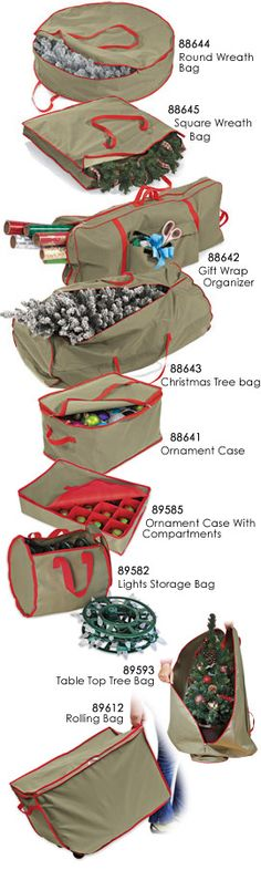 Ornament Storage Bag, Ornament Protection Bag, Christmas Ornament Case   Solutions