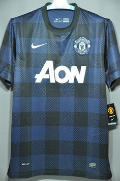 Manchester United Soccer Jersey Football Shirt Away Replica 2014 EPL BPL English Premier League Euro Champion League) – Nice Day Sports
