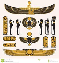 simbolos egipcios antiguos - Buscar con Google