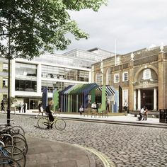 What to see at Clerkenwell Design Week the best exhibitions and installations - get all the latest design news on HOUSE - design, food and travel by House & Garden. Architecture Events, Dezeen, Urban Design, Pavilion, Contemporary Design, Facade, Home And Garden, Street View, Construction