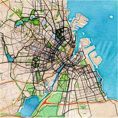 some quick and dirty maps of workouts in major European cities Copenhagen City, City Maps, How To Plan, Cities, Workouts, Tech, Spaces, Running, Art