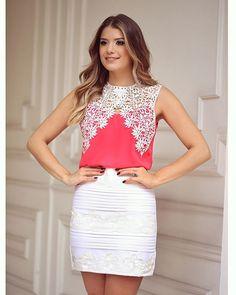 {Renda}  Look @uniquechicoficial Muito amor nessa blusa  Ja até garanti a minha! • #lançamentouniquechic #verao16 #blogtrendalert