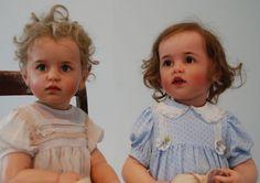 Polymer art dolls by artist Sissel Skille