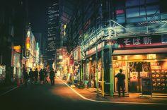 TOKYO LA NUIT PAR LE PHOTOGRAPHE MASASHI WAKUI