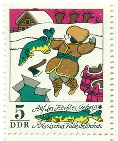 German folk tale stamps 1973