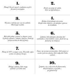 10 SPOSOBÓW NA EFEKTYWNE ZARZĄDZANIE CZASEM