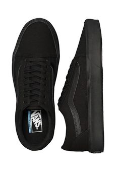 Checkout this out  Vans - Old Skool Lite + Canvas Black Black - Girl 7c152451a