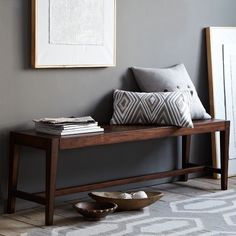 Degraw Bench | west elm front porch