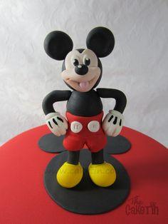 Mickey Mouse Birthday Cake - by The Cake Tin @ CakesDecor.com - cake decorating website
